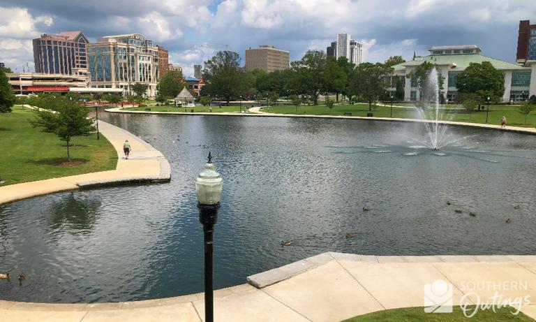 Big Spring Park lake